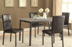 casual dining room set 5 piece pasadena furniture mart buy