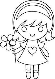 cute for girls free coloring pages on art coloring pages