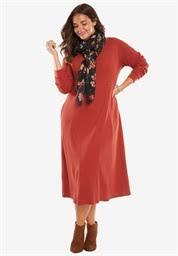 shop plus size casual dresses u0026 day dresses for women fullbeauty