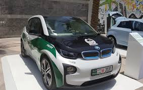 dubai police force gets a bmw i3 in the fleet