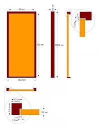 Standard Door Sizes Interior Door Size