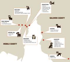 the real canines of mobile bay