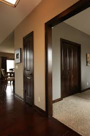 Wood Interior Homes by Interior Doors Dark Stained Poplar Doors And Mouldings Bayer
