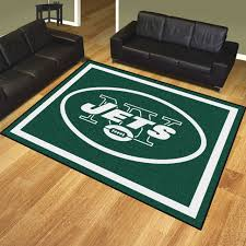 Area Rugs Nyc New York Jets Area Rugs Nfl Logo Mats