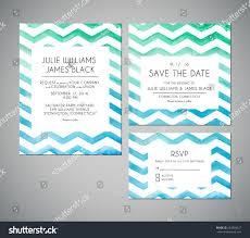 Designs Of Marriage Invitation Cards Vector Set Wedding Invitation Cards Watercolor Stock Vector