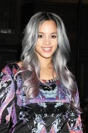 gray hair color trend 2015 orange is the new black star dascha polanco gets grey hair