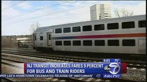 New York To Six Flags New Jersey New Jersey Transit Board Approves 9 Percent Fare Hikes Abc7ny Com