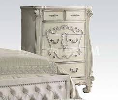 White Traditional Bedroom Furniture by Bedroom Sets Versailles Traditional 5 Pc Bedroom Set Bone White