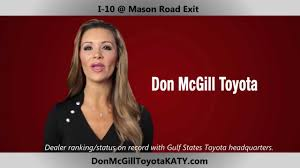 used lexus katy don mcgill toyota of katy 1 volume certified toyota dealer in