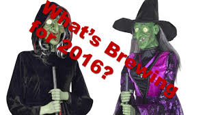 halloween animated witch 2016 the gemmy halloween archive