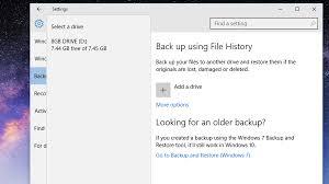 how to backup windows 10 file system u0026 cloud backups tech advisor