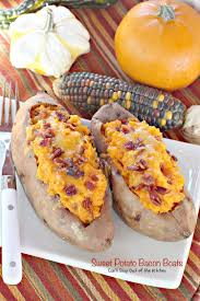 thanksgiving potatoes sweet potato bacon boats can u0027t stay out of the kitchen