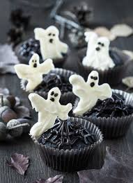 Halloween Cupcakes Ghost Cupcake Ideas
