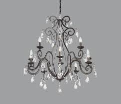 Black Metal Chandeliers Black Metal Chandelier Finding Cheap Wrought Iron Chandelier