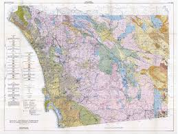 San Diego City College Map by Sdag Online Historical Geological Maps San Diego County