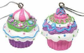 miniature cupcake ornament ornaments and