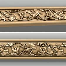 3d decorative molding model motifs decorative