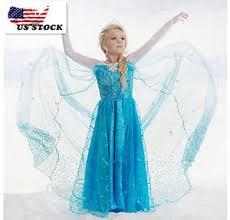 gorgeous frozen queen elsa princess anna costume cosplay party