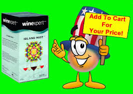 cartoon white wine winexpert strawberry watermelon white shiraz wine making kit by