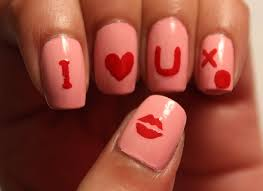 valentine u0027s day i love you nails tutorial and review dee2102