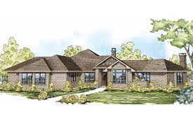 One Story Ranch House Plans by Ranch House Plans Hillcrest 10 557 Associated Designs