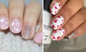 27 pretty nail art designs for valentine u0027s day stayglam