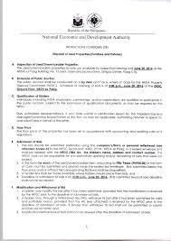 to bid invitation to bid disposal of used properties furnitures and