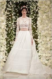 zweiteiliges brautkleid designer hochzeitskleider reem acra zweiteilig hochzeitskleid top