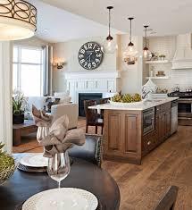 Open Floor Plan Kitchen Dining Room Best 25 Kitchen Family Rooms Ideas On Pinterest Open Family
