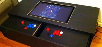 Gaming Coffee Table Fancy Gaming Coffee Table Disguise Your Gaming Addiction With This