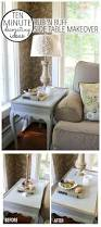 How To Decorate A Side Table by 10 Minute Quick U0026 Easy Decorating U2013 Side Table Makeover Finding