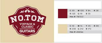 2 color combination 10 best vintage 2 color combinations for logo design with free swatches