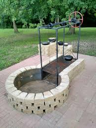 Firepit Grills Keyhole Pit With Adjustable Grille Pinterest
