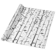 birch tree wrapping paper birch tree birthday gifts on zazzle