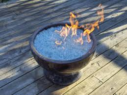 Glass Rocks For Fire Pit by Portable Outdoor Fire Pits With Broken Tempered Glass Available In