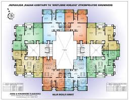 Flats Floor Plans by Home Design 89 Astounding Apartment Building Floor Planss