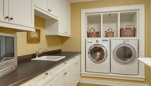 laundry in kitchen how to find the right spot for the washing machine