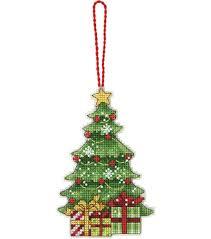 tree ornament counted cross stitch kit joann