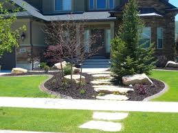 image of front yard landscaping ideas photos small no grass home