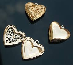 box lockets brass heart locket with carving hollowed designs 19mm inside