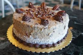 coconut pecan icing and german chocolate cake german choclate cake