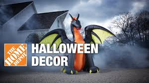 halloween decorations at the home depot youtube