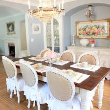 Farmhouse Round Dining Room Table Best Gallery Of Tables Furniture Best Ideas About White Dining Table Of With Farmhouse Kitchen And