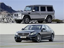 best class of mercedes mercedes s class and g class are the best cars of 2014