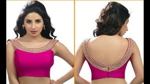 saree blouses neck blouse most beautiful saree blouse designs for