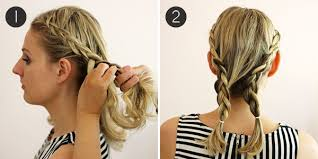 step by step braid short hair hairstyle how to easy braids for short hair more com