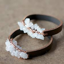 leather bracelet with beads images Of diy leather bracelet with beads 1 jpg