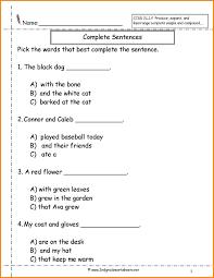 3 simple sentences worksheet media resumed