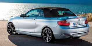 Bmw M235i Interior 2015 Bmw 228i And M235i Convertibles Make Tail Out Top Down World