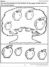 free printable preschool cut and paste worksheets worksheets